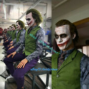 Queen Studios Qs 13 Scale The Joker Rooted Hair Limited500 Gk Resin Statue