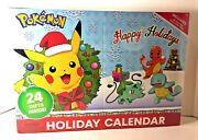 New 2020 Holiday Advent Calendar Pokemon 16-figures 6-accessories Sealed Box