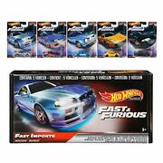 Hot Wheels The Fast And The Furious Premium Box 'fast Imports' Nissan Silvia On