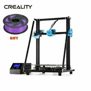 Creality Cr-10 V2 3d Printer Meanwell Power 350w Bl-touch + Purple Filament Gift