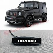 W464 W463a Illuminated Logo Badge On Front Grille Brabus Style Mercedes G-class