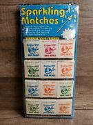 Vintage Sparkling Matches Surprise Your Friends Old Stock Store Display New