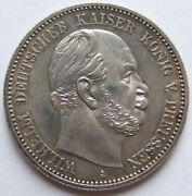 Top 2 Mark Wilhelm Prussia 1884 A In Uncirculated Rarely