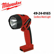 Milwaukee 49-24-0165 18 Volt Cordless Flashlight Uses 48-11-1830 Battery