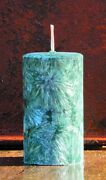 200hr Kelly Green Holly Berry And Cloves Christmas Scent Candle Table Decorations