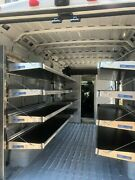 Ram Promaster Shelves. Ranger Design. With Partition. Mounting Parts Included