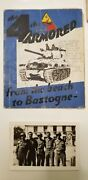 4th Armored Wwii Photos Personal Diary Battle Of The Bulge Bastogne