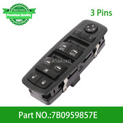 New Power Window Switch Front Driver Left Side For Vw Routan 09-12 7b0959857e