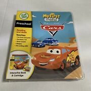 My First Leap Pad Cars Interactive Book And Cartridge New