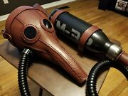 Hand Made Leather Plague Doctor Gas Mask W/ Prop Gas Tank