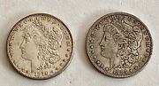 2- U.s. Morgan Silver Dollars- 1878-s,1885- S- See Other Morgans, Gold, Jewelry