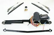 New Port Engineering Windshield Wiper System 1935-36 Dodge And Plymouth Ne3536mpr