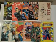 First Comic Lot Of 11 Sable Dreadstar Lone Wolf And Cub