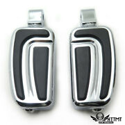 Airflow Footpegs Foot Rest For Yamaha Road Star Warrior 2002-2009 Front