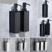 Soap Dispenser Bathroom Accessories Stainless Steel 304 Wall Mounted Liquid Soap