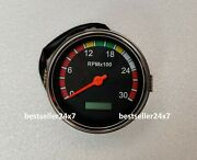 85mm Tachometer 3000rpm With Hour Meter Truck Car Boat Diesel Engine Tacho Rpm