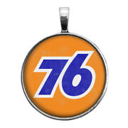 Union 76 Gas Vintage Sign Image Key Ring Cufflinks Ring Necklace Earrings Auto