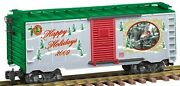Lionel Large G Scale 2009 Christmas Boxcar 6-87031 New In Box Free Shipping