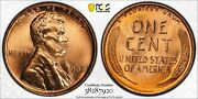1935 Lincoln Cent Pcgs Ms67+rd High Grade Lustrous Beauty Gold Shield