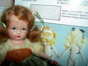 Early Nancy Ann Storybook Japan Ms Mb Jointed Bisque Doll Around The World