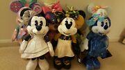 Disney Minnie Mouse The Main Attraction Plush Set Lot January To July Bnwt Read