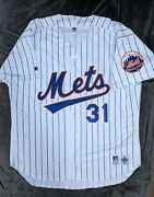 John Franco Russell Athletic Authentic New York Mets White Jersey 52 1993 Style