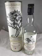 Game Of Thrones House Lannister Whisky Lagavulin Scotch Whisky Tube Bt