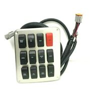 Renken Boats 12 Switch Console Dash Lighted Switch Panel