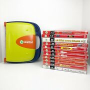 Leappad Learning System With 11 Books And Cartridges K-1 Grade Home School Tested