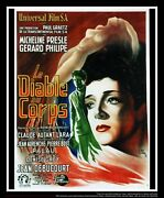 Diable Au Corps 4x6 Ft French Grande Movie Poster Original 1947