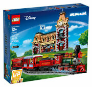 Brand New In Box Lego Disney Train And Station 71044 Christmas Train