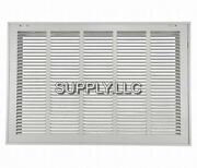 Return Vent Cover 20 X 25 White Filtered Air Grille Removable Face Wall Ceiling