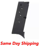Promag 7 Rd 9mm Blue Steel Clip Magazine Rug16 For Ruger Lc9 Lc9s Ec9 Ec9s