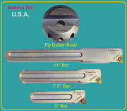Suburban Tool Fly Cutter And 3 Bar Set For Bridgeport Mill Cnc See Video