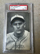 1923-24 Exhibits C.e.galloway Psa 3.5 - Rare Only 12 Graded Examples