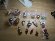17 Mia Collectables Glass Christmas Holiday Ornaments Santa Gifts Cat Poland Ch