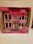 Fisher Price Loving Family Manor Dollhouse With Mom Dad And Baby New