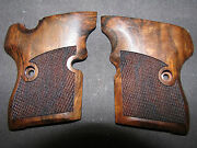 Naa North American Arms Guardian French Walnut Checkered Pistol Grips Sweet New