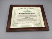 Rare Signed Admiral Ricketts Certificate Destroyer Force Us Atlantic Fleet