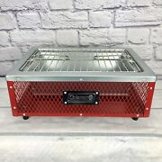 Light Weight Easy Carry Coleman Table Top Charcoal Grill - Outdoor - Camping Bbq