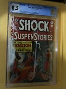 Shock Suspenstories 10 Cgc 8.5 Al Feldstein Bill Gaines Wally Wood Art Ec 1953