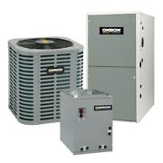 Oxbox - 2 Ton Cooling - 90k Btu/hr Heating - Air Conditioner + Single Speed F...