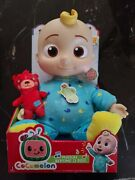 Cocomelon Musical Bedtime Jj Doll With Plush Tummy Ships Now