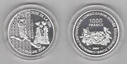 Cameroon - Silver Proof 1000 Francs Coin 2004 Year Germany Fifa World Cup 2006