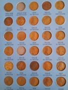1909 To 1940 Lincoln Cents Only 2 Years Missy 1909-s Vdb 1914-d Great For A Gift