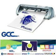 Gcc Iv P4-61 24andrdquo Vinyl Cutter For Signs And Htv 261 Cms Free Shipping