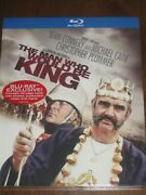 The Man Who Would Be King 1975 Blu-ray Digibook Sean Connery - Brand New