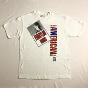 Emmylou Harris 1988 North American Tour T Shirt Made In Usa Single Stitch