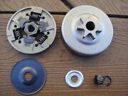 Genuine Stihl Ms311 Ms391 Chainsaw Clutch W/ Bearing And Drum - New