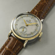 Seiko 13003 Vintage 15 Jewels Small Second Cap Gold Manual Winding Mens Watch